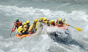 Rafting in Valle d'Aosta